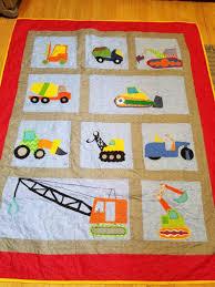 100 Toddler Truck Bedding Construction Construction Nursery Construction Throw Excavator Boy Dozer Backhoe Cement Crane Dump