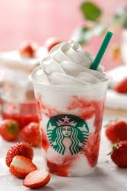 Strawberry Cream FrappuccinoR Will Be Sold To Tell A Arrival Of The Early Summer It From May 17th For Limited Time At All Starbucks In