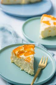cremiger 10 minuten quark käsekuchen mit mandarinen ohne boden