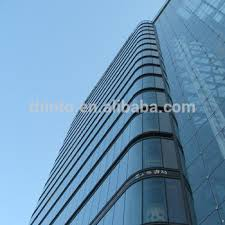 innovative fabrication and engineering unitized glass curtain