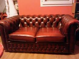edition canap canape chesterfield cuir occasion