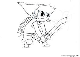 Zelda Character Coloring Pages