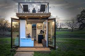 104 Shipping Container Homes In Texas This Company Is Turning S To Double Decker Tiny Dwell