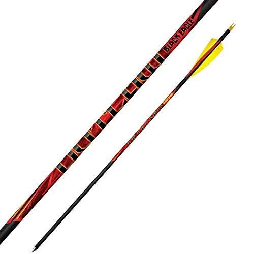 Black Eagle Outlaw Feather Fletched Arrows