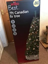 7ft Pre Lit Christmas Tree Homebase by Christmas Tree Lights And Baubels In Newcastle Under Lyme