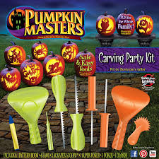Electric Pumpkin Carving Knife by Amazon Com Pumpkin Masters Carving Party Kit Carving Sets