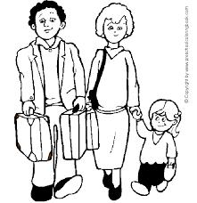 Preschoolcoloringbook Family Coloring Page