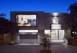 Modern House Fronts by Front View Cool Concrete Modern House Design By Zack De Vito