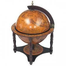 nautical tabletop globe bar torino bar globe free shipping to usa