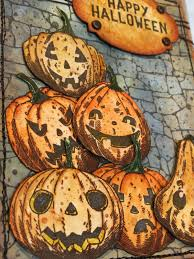 Pumpkin Head 2017 by Plays Well With Paper Happy Halloween Pumpkinhead