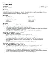 Call Center Resume Sample Samples For Job Agent Philippines