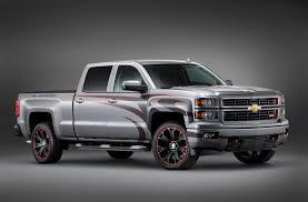 100 Concept Trucks 2014 Chevrolet Previews New Silverado For SEMA