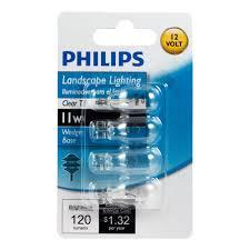 philips 415828 landscape lighting 11 watt t5 12 volt wedge base