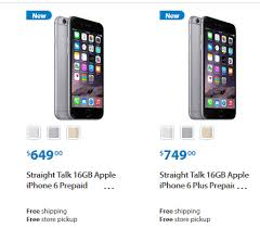 Don t mind 16gb iPhone 6 and Plus from walmart straight talk