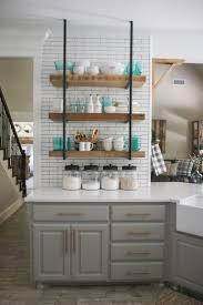 Wood Shelves Design Ideas by Best 25 Open Kitchen Shelving Ideas On Pinterest Kitchen