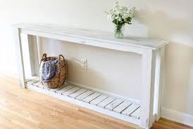sofa surprising diy sofa table ana white rustic x diy furniture