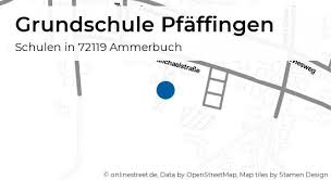 grundschule pfäffingen michaelstraße in ammerbuch pfäffingen