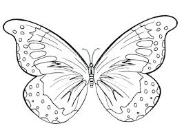 Butterfly Coloring Page Printable Ly Pages Ideas Monarch For Adults Pdf