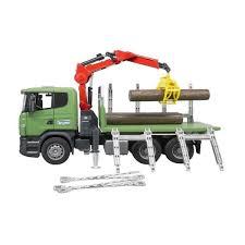 Kelebihan Dan Harga Bruder Toys 3524 Scania R-series Timber Truck ...
