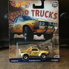 100 Subaru Trucks Brat Shop HotWheels