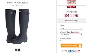 Hunter Boots Coupon Code Up To 40 Off Kids And Womens Hunter Boots Extra 15 Over 30 Free Shipping The Krazy Summer Sale To 50 Additional 20 Barstool Sports Promo Code Seatgeek Wendys Canada Food Coupons Boot Coupon Coupons For Sport Chalet Online Boot Sock Moosejaw Buy Online At Overstock Our Best Original Tall Socks Australian Company Hdfc Credit Card Offer On Playpennies Last Chance Discount Codes Thoughts Some Of Jack Puller