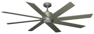 60 Inch Ceiling Fans by Troposair Northstar Brushed Nickel 60 Inch 8 Bladed Dc Ceiling Fan