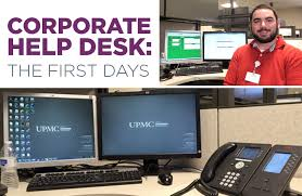 my career at upmc corporate help desk the first days