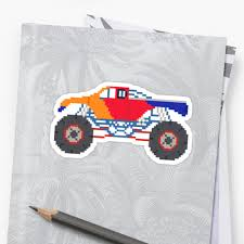 Monster Truck - The Kids' Picture Show - 8-Bit