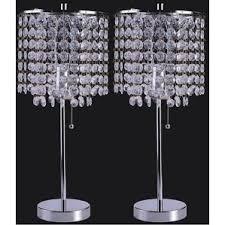 Swarovski Crystal Lamp Finials by Crystal Table Lamps You U0027ll Love Wayfair