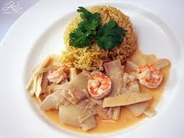 cuisine cor du sud curry de coeur de palmier miam poisson ou fruits de mer