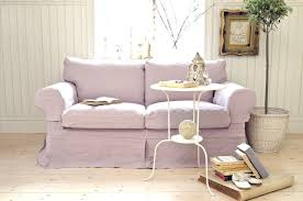 Hagalund Sofa Bed Slipcover by Lovely Lavender Ektorp 2 Seater Sofa Cover Loose Fit Country In