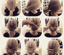 Diy Frisur Hair Tutorial Hairs Step By