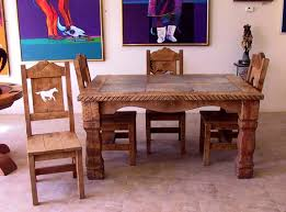 Western Rustic Dining Sets And Chairs Rh Bluecoyotegallery Com Room Furniture Cape