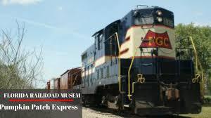 Pumpkin Patch Festival Sarasota by Florida Railroad Museum Pumkin Patch Express Youtube