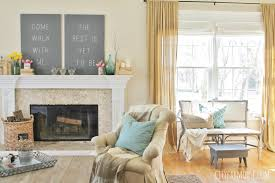Seasons Of Home Easy Spring Decorating Ideas Adding Touches Tourquoise