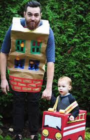 Cardboard Fire Truck Costume | Purim | Halloween Costumes, Halloween ...