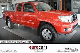 2014 Toyota Tacoma TRD Stock # E1114 For Sale Near Colorado Springs ... 46 Unique Toyota Pickup Trucks For Sale Used Autostrach 2015 Toyota Tacoma Truck Access Cab 4x2 Grey For In 2008 Information And Photos Zombiedrive Sale Thunder Bay 902 Auto Sales 2014 Dartmouth 17 Cars Peachtree Corners Ga 30071 Tico Stanleytown Va 5tfnx4cn5ex037169 111 Suvs Pensacola 2007 2005 Prunner Extended Standard Bed 2016 1920 New Car Release Topper