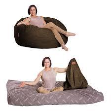 Cordaroys Bean Bag Bed by Bean Bag Chair Lounge Pillow Sleeper Waterproof Dorm Bed Room