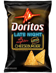 THIS SNACK ROCKS All Nighter Cheeseburger Doritos