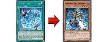 yu gi oh trading card game how do the invoked work