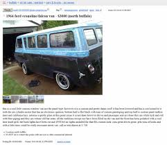 Project Car Hell, Custom Van Edition: Ford Econoline Or Dodge A100 ... Craigslist Cars For Sale By Owner In Chicago Il Best Car Janda Apparatus Category Spmfaaorg Page 3 South Bay Houses Me Apt San Francisco Area And Trucks Superbo Memphis Allcraigslist Houston Search All Of New Mexico Food Truck Builder M Design Burns Smallbusiness Owners Nationwide Buffalo Reviews 2019 20 Only Free Owners Manual Military Water Trailer Old For Texas Our Guide In Eats Luis Obispo Top