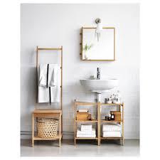 Ikea Bathroom Sinks Ireland by Rågrund Wash Basin Corner Shelf Bamboo 34x60 Cm Ikea
