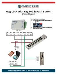 Magnetic Lock Kit For Cabinets by Magnetic Lock Support Murphy Door