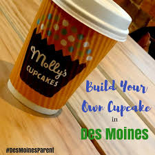 Mollys Cupcakes Build Your Own Cupcake In Des Moines