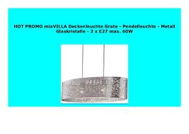 best seller miavilla deckenleuchte grate pendelleuchte