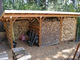 build your firewood storage shed to stand the test of time fine