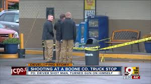 Truck Driver Wounds Man, Kills Himself At Truck Stop - YouTube