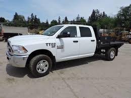 2013 Dodge 2500 Heavy Duty 4x4 Flatbed Truck For Sale, 25,200 ...