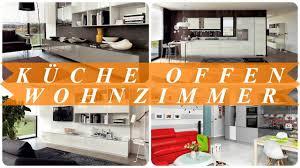 ideen für offene küche esszimmer wohnzimmer