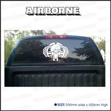Free Shipping 1PC Airborne Punisher For Truck Rear Window Or ... See Through Perforation Rear Window Graphics Fort Lauderdale Camowraps Graphicswindow Film Realtree Car Allen Signs Product American Flag Eagle Pickup Truck Rear Window Graphic Family Stickers Rear Window Ford Decal Ford F150 Forum Community Of Truck How Many Is Too Many Decals True North Trout 2 Dodge Hemi 57 Magnum Ram Sticker Eaging Chevy Girl Bowtie Heart Auto Vinyl Allischalmers Back Decal Free Shipping Pc Custom Truck Flame Decals For